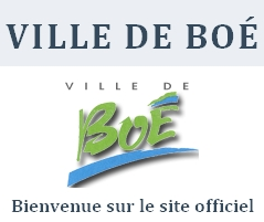 Site officiel de la commune de Boé
